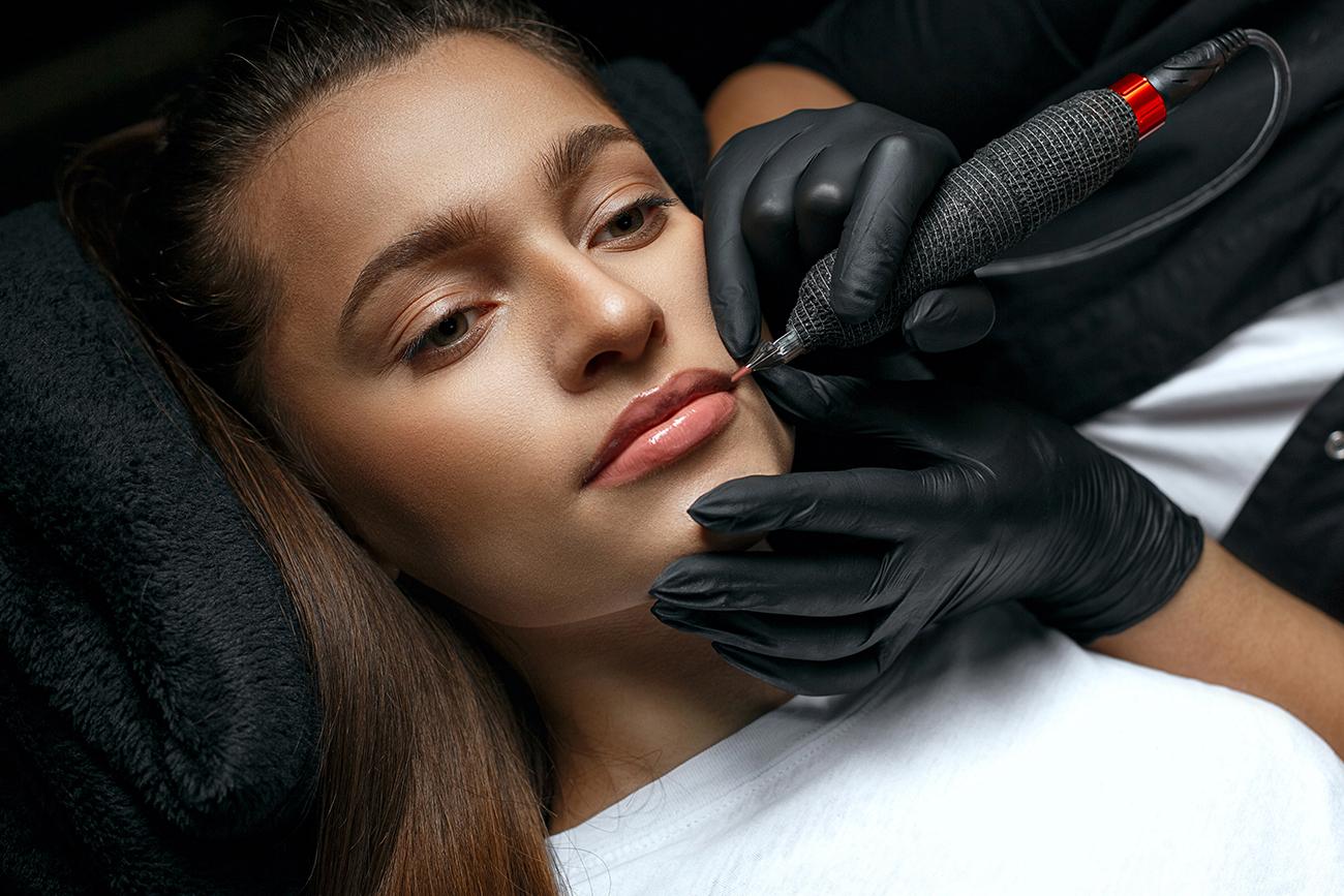 pigmentation sur lèvres